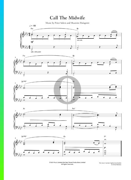 Call The Midwife Theme Sheet Music