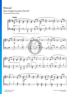 Enigma Variationen, Op. 36: Nimrod