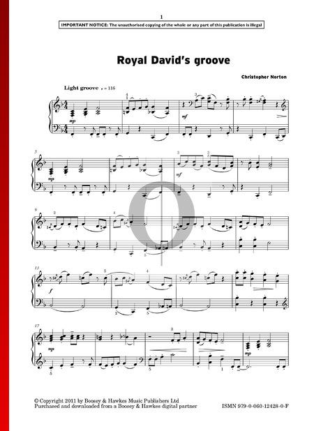 Royal David's Groove Sheet Music