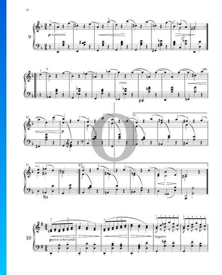 Walzer, Op. 39 Nr. 10 Musik-Noten