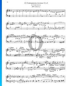 Contrapunctus 12, BWV 1080/12, 2