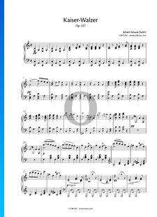 Kaiserwalzer (Emperor-Waltz), Op. 437