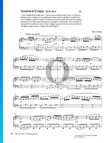 Sonate in D-Dur, Op. 36 Nr. 6