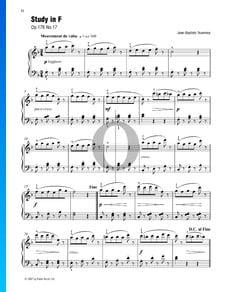 Estudio en fa, Op. 176 n.º 17