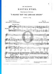 Cavalleria Rusticana, Easter Hymn