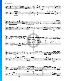 Concerto in B Minor, BWV 979: 6. Allegro
