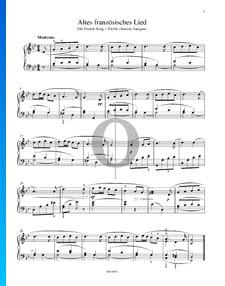 Altfranzösisches Lied, Op. 39