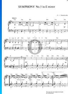 Symphony No. 5 in E Minor, Op. 64: 1. Andante