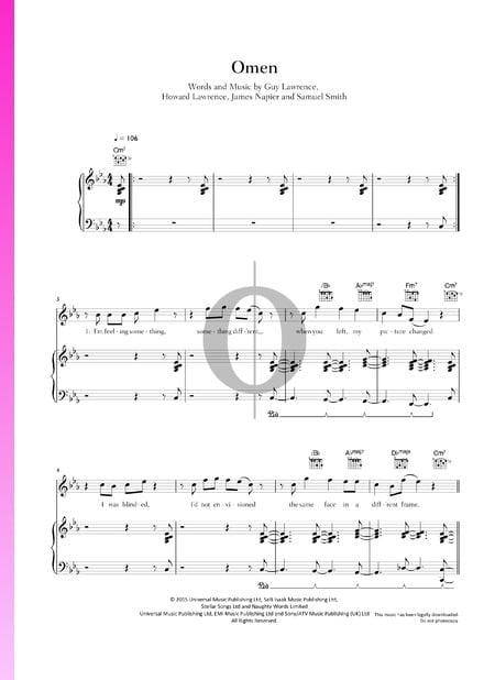 Omen Sheet Music