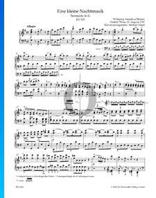 Eine kleine Nachtmusik, KV 525: 1. Serenade