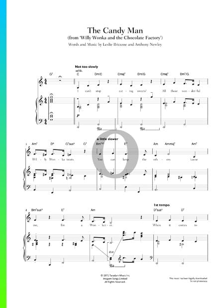 The Candy Man Partitura