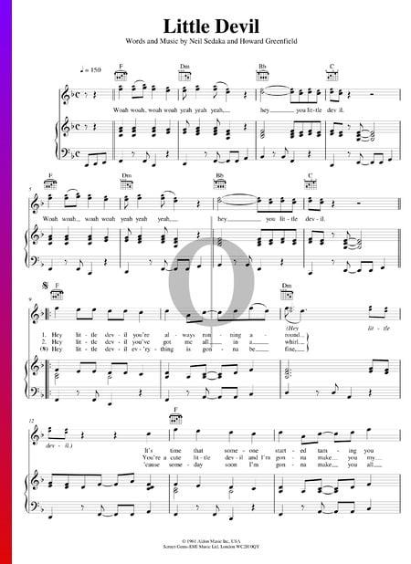 Little Devil Sheet Music