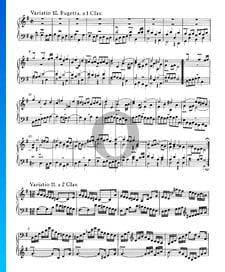 Variations Goldberg, BWV 988: Variatio 11. a 2 Clav.