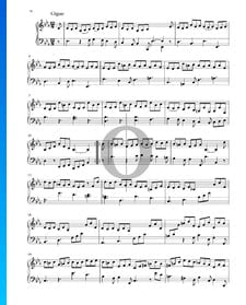 Suite in E-flat Major, BWV 1010: 6. Gigue