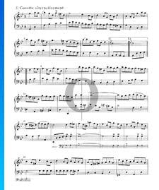 Suite inglesa n.º 3 en sol menor, BWV 808: 5./6. Gavota I y II