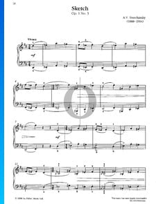 Sketch, Op. 1 n.º 3