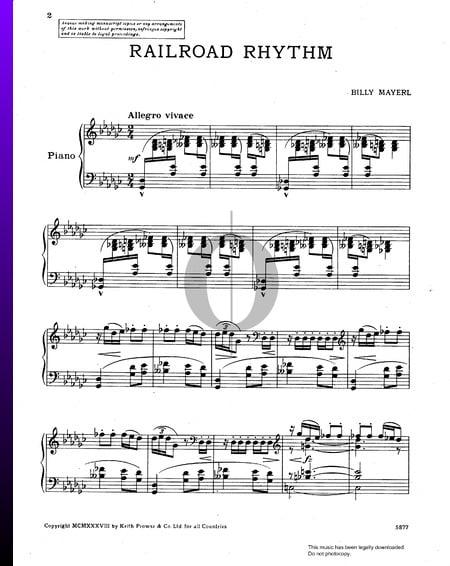 Railroad Rhythm Sheet Music