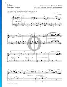 Septeto en mi bemol mayor, Op. 20: Tempo die menuetto