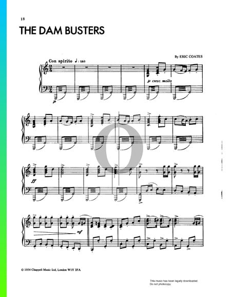 The Dam Busters Sheet Music