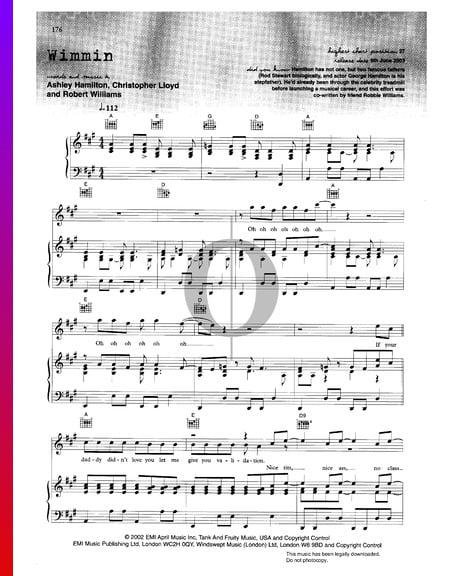 Wimmin Sheet Music