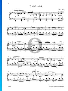 Kinderstück, Op. 72 Nr. 5