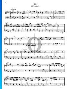 Marche en Mi bémol Majeur, BWV Anh. 127