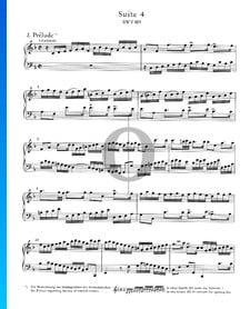 English Suite No. 4 F Major, BWV 809: 1. Prélude