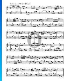 Goldberg Variationen, BWV 988: Variatio 7. à 1 ô vero 2 Clav.