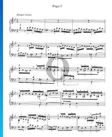 Fuga en sol menor n.º 1, Op. 16