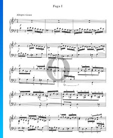 Fuge g-Moll Nr. 1, Op. 16