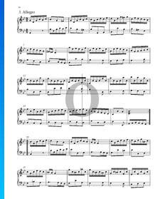 Suite No. 7 en Sol mineur, HWV 432: 3. Allegro
