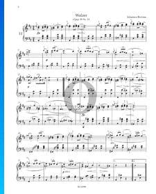 Vals, Op. 39 n.º 11