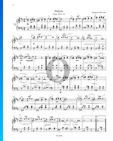 Walzer, Op. 39 Nr. 11