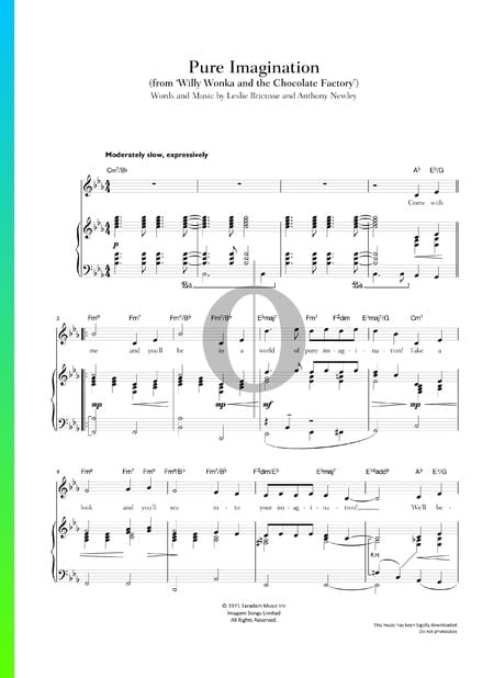 Pure Imagination Sheet Music