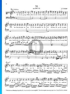 Ich habe genug (Recitativo), BWV 82