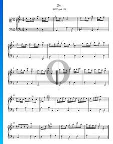 Polonaise d-Moll, BWV Anh. 128