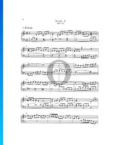 Suite inglesa n.º 6 en re menor, BWV 811: 1. Preludio