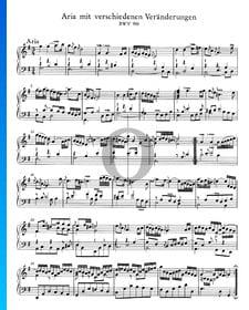 Goldberg Variationen, BWV 988: 1. Aria