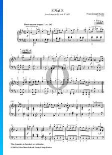 Sonate No. 50 en Ré Majeur, Hob. XVI: 37: 3. Finale