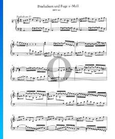 Preludio 20 en la menor, BWV 865