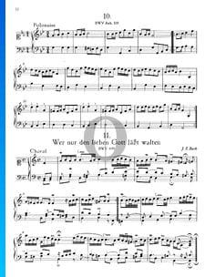 Wer nur den lieben Gott lässt walten, BWV 691