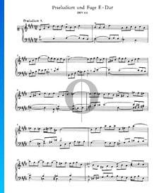 Praeludium 9 E-Dur, BWV 854