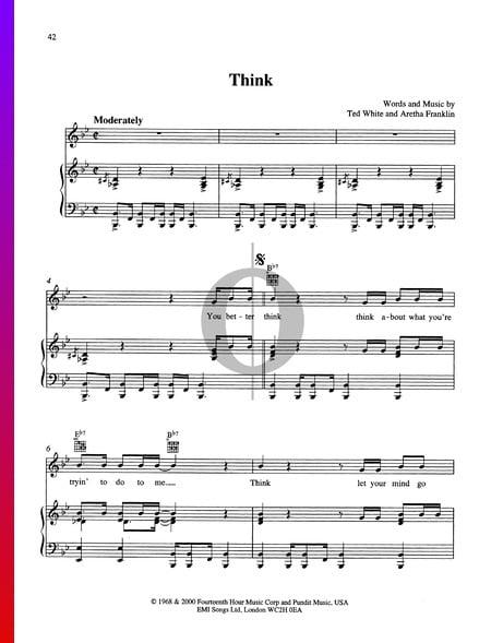 Think Musik-Noten