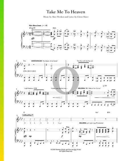 Take Me To Heaven Musik-Noten