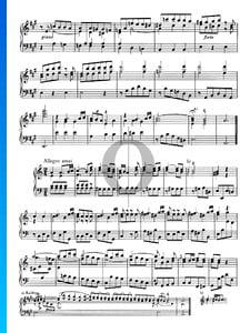 Sonata n.º 1, Wq 49: 3. Allegro assai