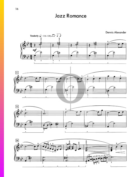 Jazz Romance Sheet Music