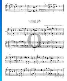 Menuett in C-Dur, KV 315a (315g), Nr. 4