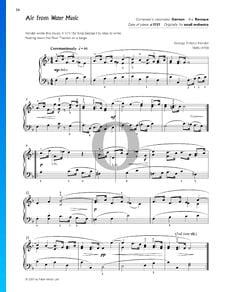 Wassermusik, HWV 348: 6. Air