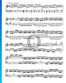 Concerto in D Minor, BWV 987: 2. Un poco allegro