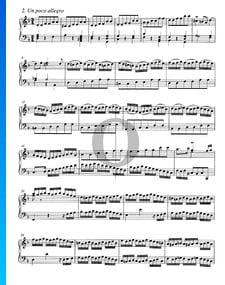 Concierto en re menor, BWV 987: 2. Un poco allegro